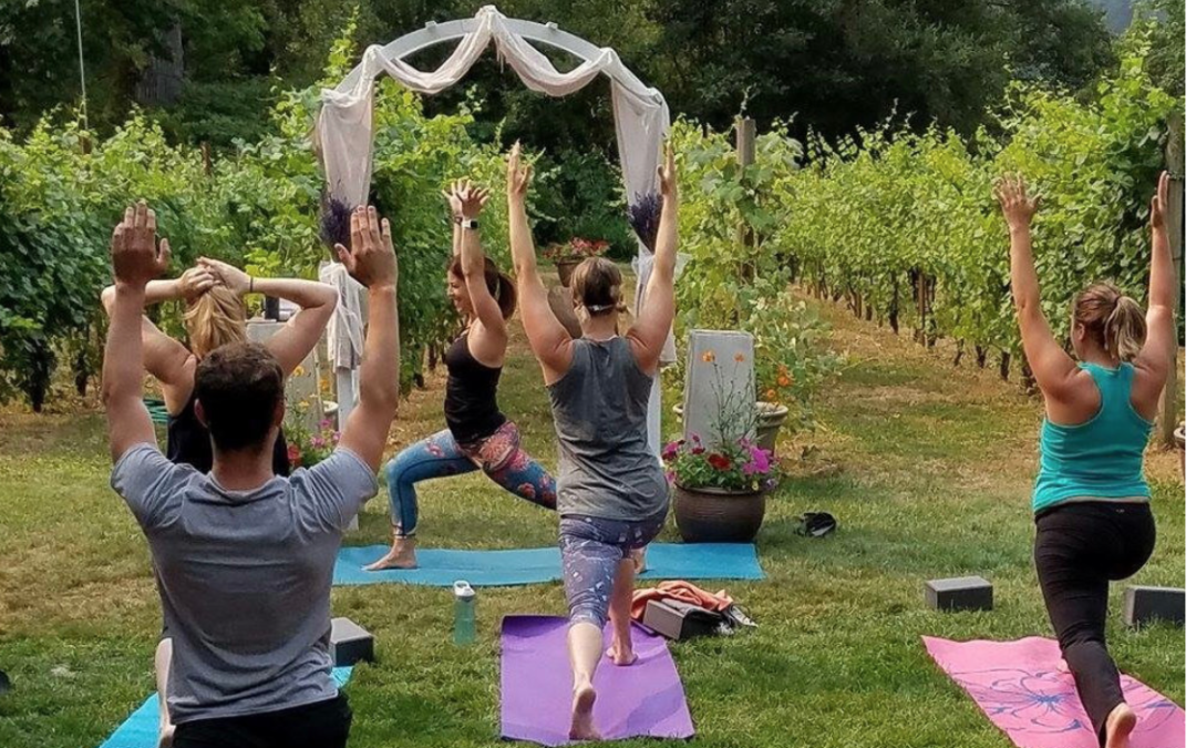 **COMPLETED**Yoga & Wine Tasting, William Grassie Winery in Fall City, WA July 7th 2018